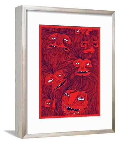 Hairwolves-Joe Van Wetering-Framed Art Print
