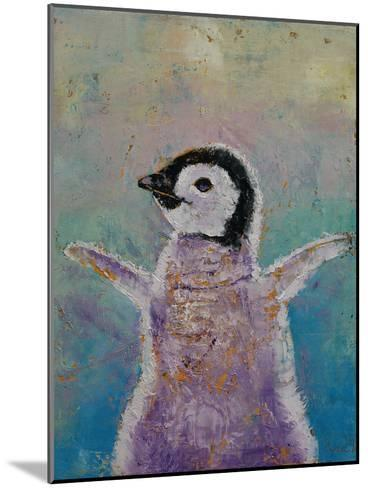 Baby Penguin-Michael Creese-Mounted Art Print
