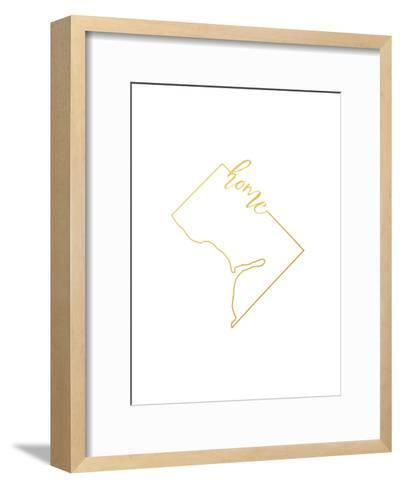 Washington DC home-Paperfinch-Framed Art Print