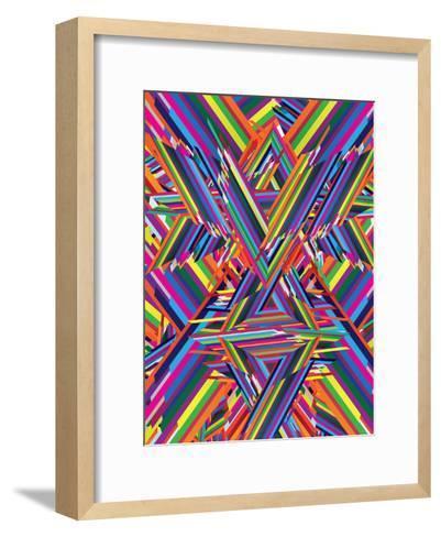 The Shattering-Joe Van Wetering-Framed Art Print