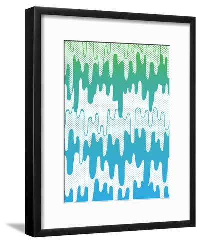 Trippy Drippys-Joe Van Wetering-Framed Art Print