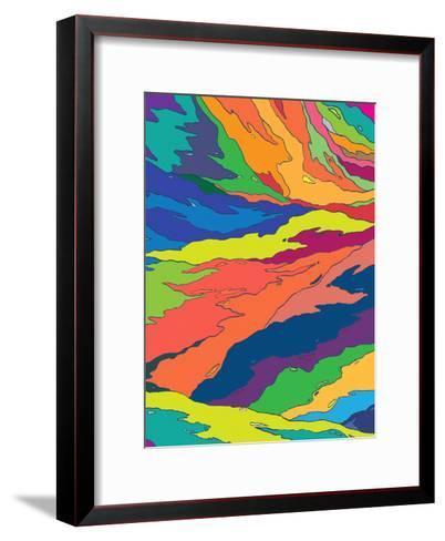 Liquid Camo-Joe Van Wetering-Framed Art Print