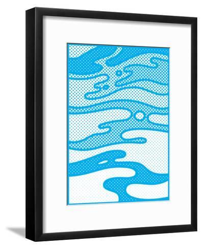 Pop Camo-Joe Van Wetering-Framed Art Print