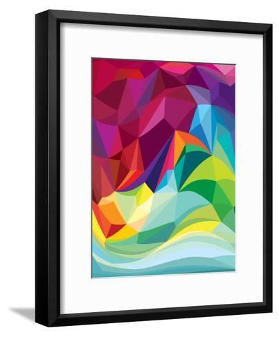 Swirl-Joe Van Wetering-Framed Art Print