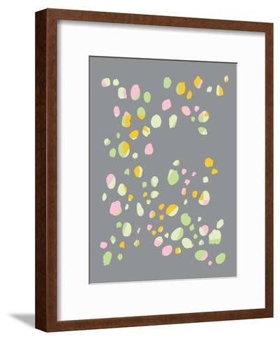 Geo Confetti-Ashlee Rae-Framed Art Print