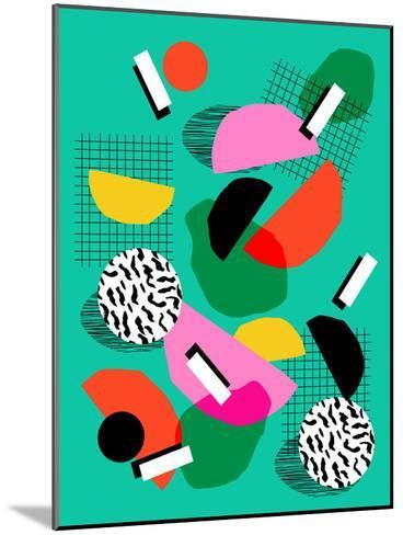 Flange-Wacka Designs-Mounted Art Print