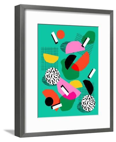 Flange-Wacka Designs-Framed Art Print