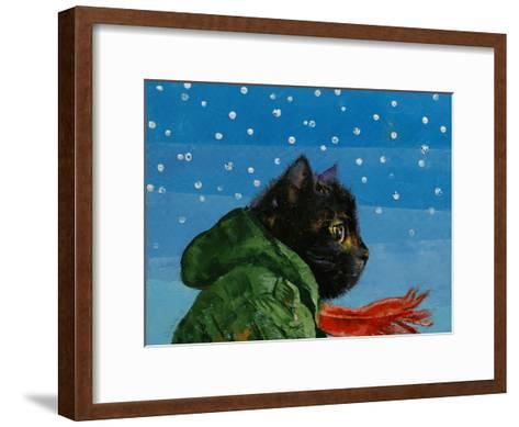 Winter Kitten-Michael Creese-Framed Art Print