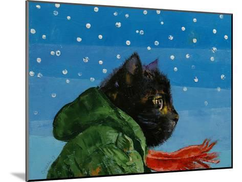 Winter Kitten-Michael Creese-Mounted Art Print