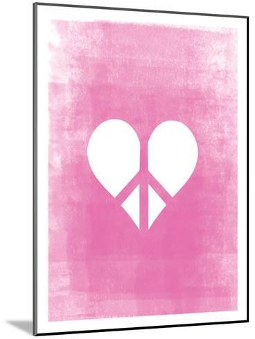 Love & Peace-Ashlee Rae-Mounted Art Print