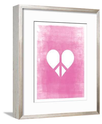 Love & Peace-Ashlee Rae-Framed Art Print