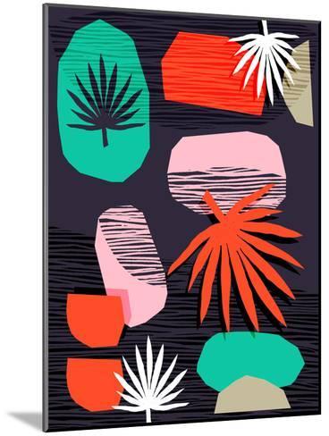 Dank-Wacka Designs-Mounted Art Print