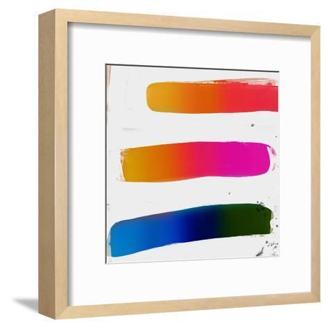 Multicolor Strokes-Kasi Minami-Framed Art Print
