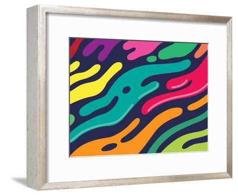 Liquid-Joe Van Wetering-Framed Art Print
