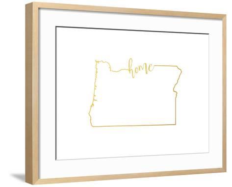 Oregon home--Framed Art Print
