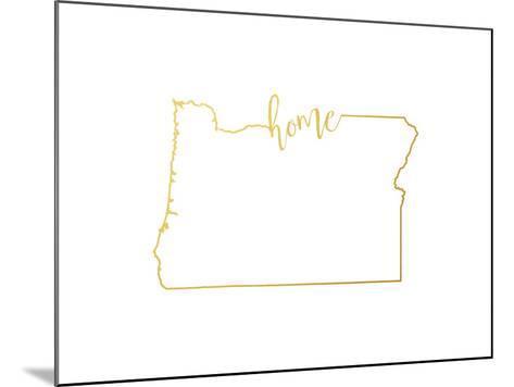 Oregon home--Mounted Art Print
