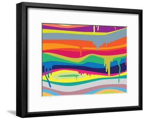 Melt On-Joe Van Wetering-Framed Art Print