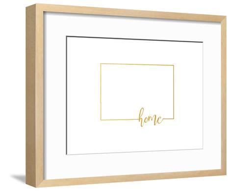 Colorado home--Framed Art Print