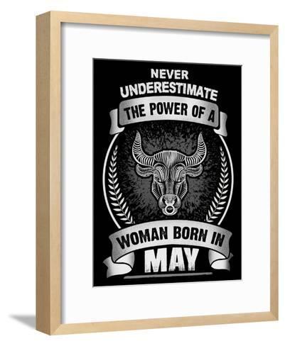 Horoscope May-Wonderful Dream-Framed Art Print