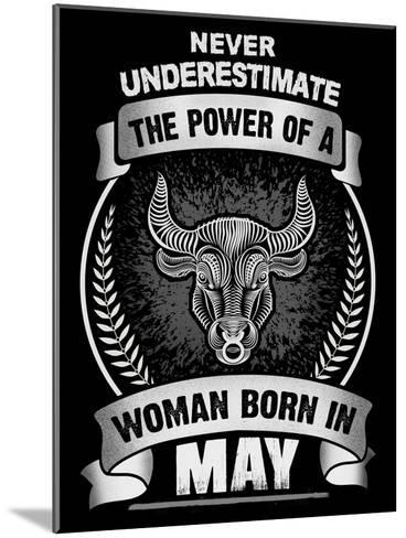 Horoscope May-Wonderful Dream-Mounted Art Print