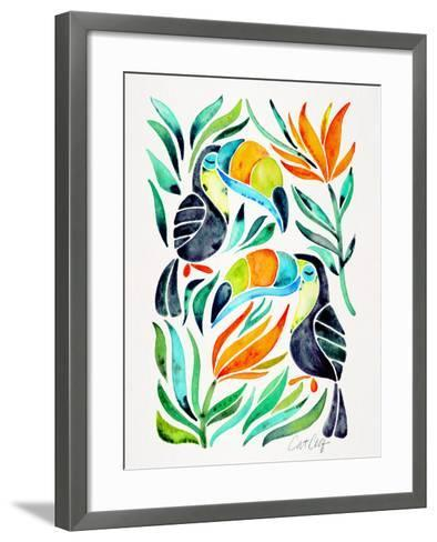 Toucans-Cat Coquillette-Framed Art Print