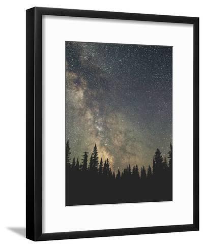 Stars Over The Forest Ii-Luke Gram-Framed Art Print