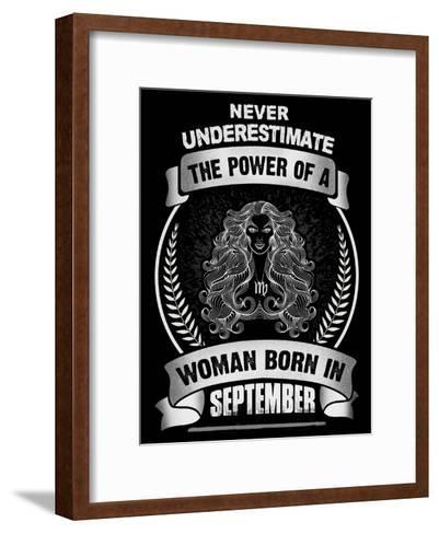 Horoscope September-Wonderful Dream-Framed Art Print