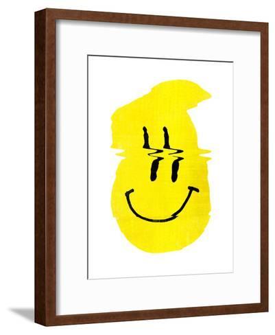 Smiley S-Ali Gulec-Framed Art Print