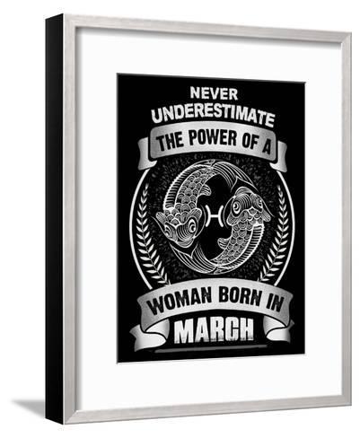 Horoscope March-Wonderful Dream-Framed Art Print