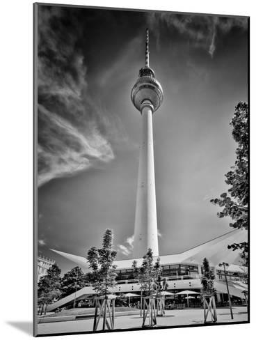 Berlin Television Tower-Melanie Viola-Mounted Art Print
