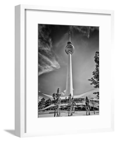 Berlin Television Tower-Melanie Viola-Framed Art Print