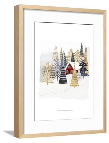 Christmas Chalet I-Victoria Borges-Framed Art Print