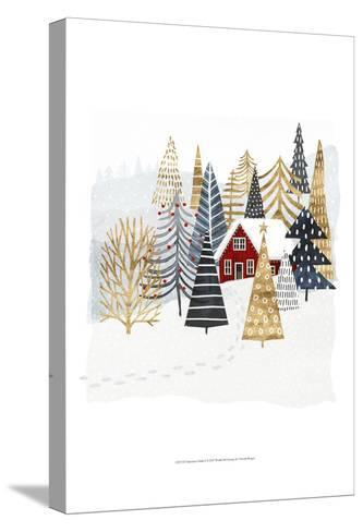 Christmas Chalet I-Victoria Borges-Stretched Canvas Print