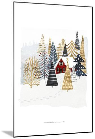 Christmas Chalet I-Victoria Borges-Mounted Art Print