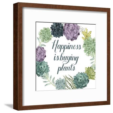Plant Happiness I-Grace Popp-Framed Art Print