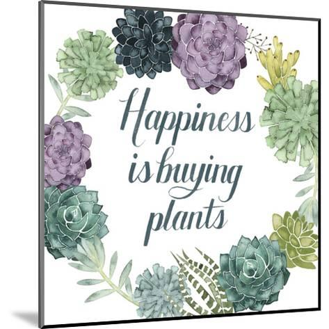 Plant Happiness I-Grace Popp-Mounted Art Print