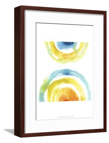 Prisma Circuit III-June Erica Vess-Framed Art Print