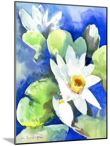 Lotuses 2-Suren Nersisyan-Mounted Art Print