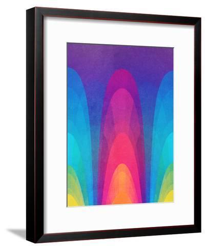 Chroma02-Tracie Andrews-Framed Art Print