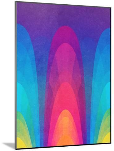 Chroma02-Tracie Andrews-Mounted Art Print
