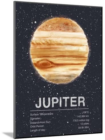 Jupiter-Tracie Andrews-Mounted Art Print