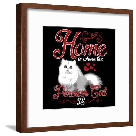 Persian Cat Pet-Wonderful Dream-Framed Art Print