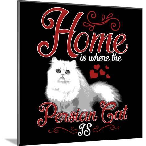 Persian Cat Pet-Wonderful Dream-Mounted Art Print