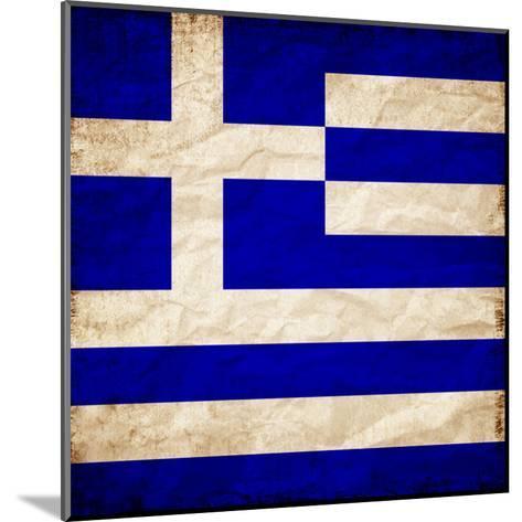 Greece Flag-Wonderful Dream-Mounted Art Print