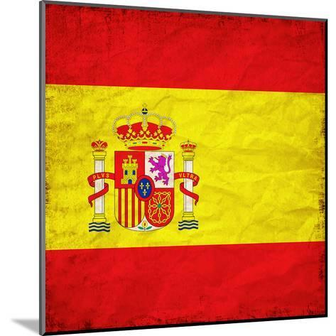 Spain Flag-Wonderful Dream-Mounted Art Print