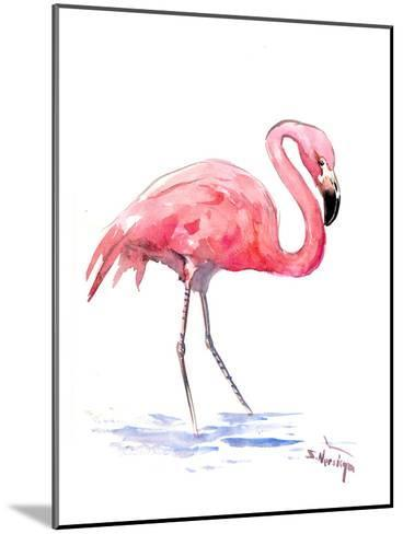 Flamingo 3-Suren Nersisyan-Mounted Art Print