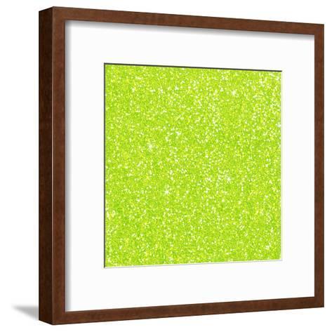 Green Diamond-Wonderful Dream-Framed Art Print