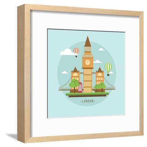 London-Wonderful Dream-Framed Art Print