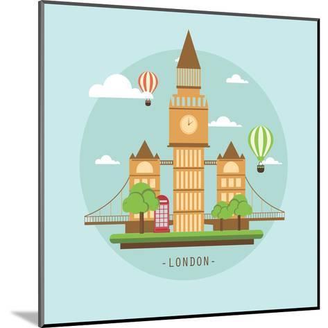 London-Wonderful Dream-Mounted Art Print