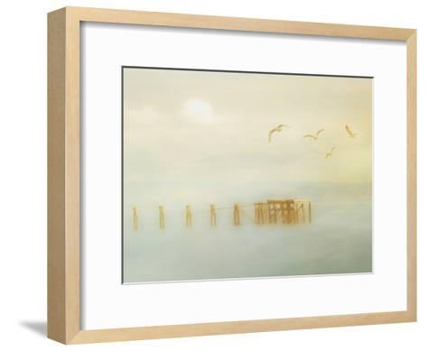 Down By The Jetty-Hal Halli-Framed Art Print